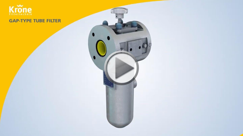 Spaltfilter Video